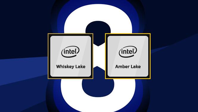 Intel công bố chip di động Amber Lake và Whiskey Lake