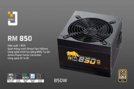 Nguồn máy tính Jetek RM850: Chạy êm, không lo PC bị nóng