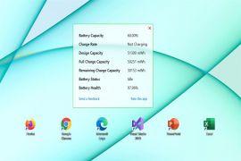 ★ Cách xem tỉ lệ phần trăm pin và độ chai pin bao nhiêu trên màn hình máy tính Windows 10