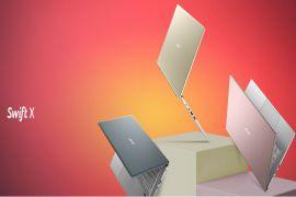 ✩ Acer Swift X pin khoẻ, cấu hình mạnh mẽ