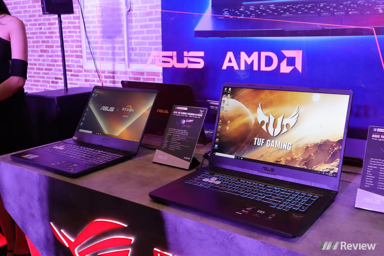 Asus trình làng loạt laptop trang bị AMD Ryzen Mobile thế hệ mới nhất tại VN