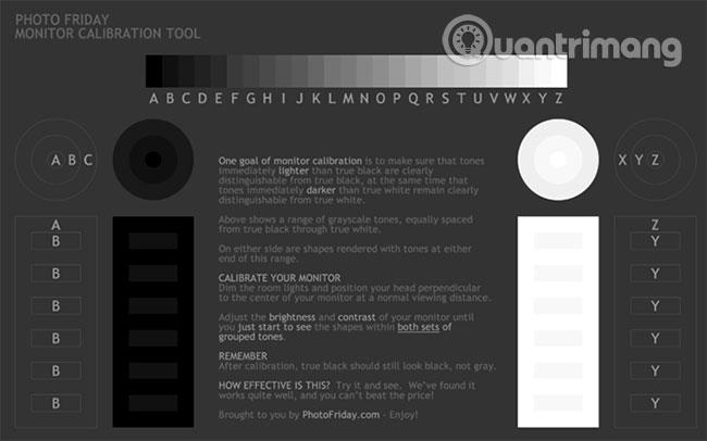 5 công cụ trực tuyến tốt nhất để hiệu chỉnh màn hình