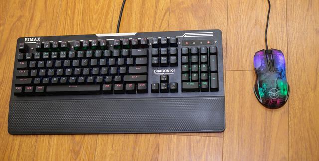 Cặp đôi phím chuột ngon bổ rẻ Rimax Dragon K1 và M1
