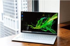 Đáng giá Acer Swift 7: Laptop mỏng và nhẹ nhất hiện nay