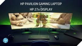 HP ra mắt màn hình chuyên game Pavilion 27x