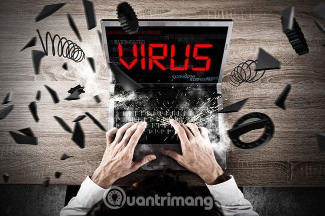 7 virus máy tính bạn nên cẩn trọng