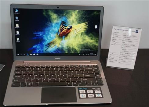 Bộ sưu tập laptop Haier siêu mỏng, giá từ 5,5 triệu đồng