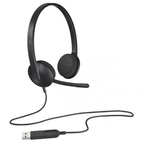 Headphone Logitech H340