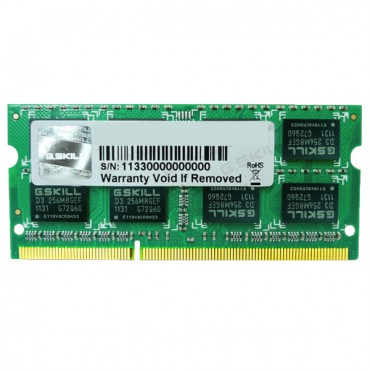 RAM Laptop 4GB G.SKILL F3-10666CL9S-4GBSQ