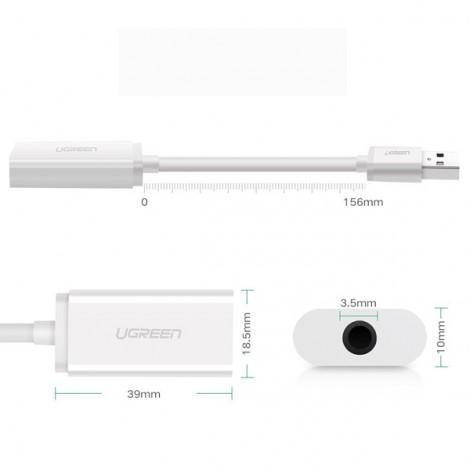 Bộ chuyển USB -> Audio Ugreen 30712