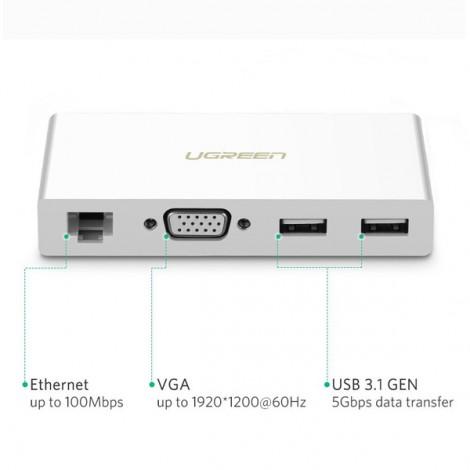 Bộ chuyển đổi Type-C sang VGA Ugreen 40378