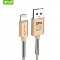 Cáp sạc nhanh Golf GC-40 2.4A chống đứt iPhone