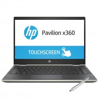 Laptop HP Pavilion x360 14-cd1018TU 5HV88PA (Gold)