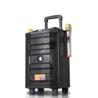 Loa kéo mini BD-H0886YS LED (LOA + 2 MICRO UHF)