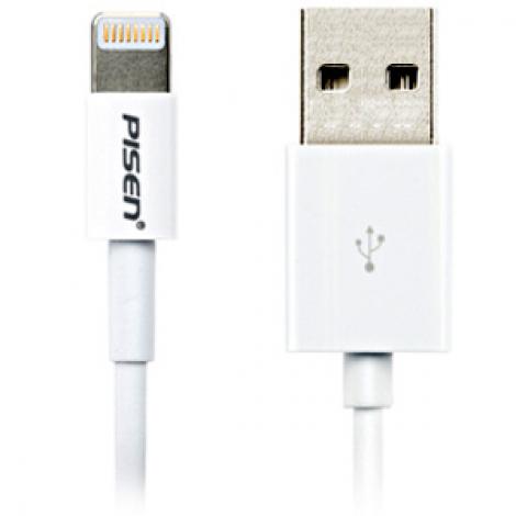 Cable iPhone 5 Pisen màu