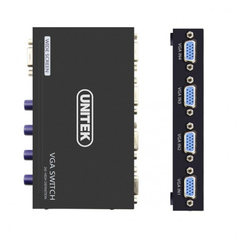 SWITCH VGA 4-1 UNITEK U8705