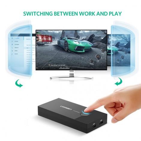 Bộ KMV Switch Ugreen 30357