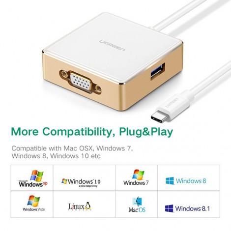 HUB USB 3.0 Ugreen 30442