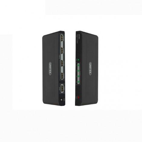 Bộ chia HDMI 1 ra 4 Unitek Y5184A