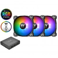 Fan Thermaltake Pure Plus 12 RGB (3-Fan Pack)