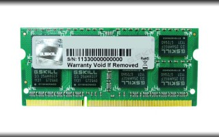 RAM Laptop 8GB G.Skill F3-10666CL9S-8GBSQ Bus 1333