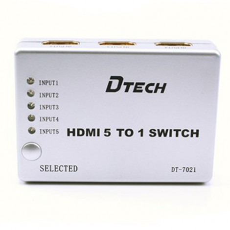 Switch HDMI Dtech DT 7021