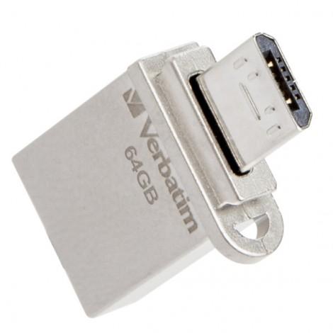 USB 64GB Verbatim OTG Micro 49827