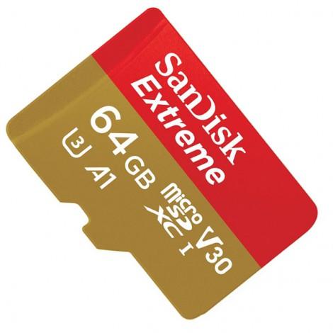 Thẻ nhớ Micro-SDHC 64GB SanDisk Extreme