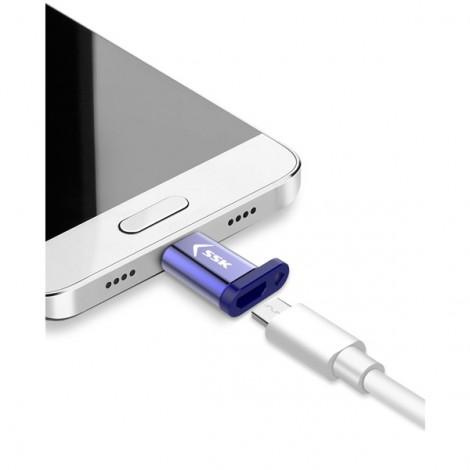 Đầu đổi Micro USB -> Type-C SSK (SM2C001)