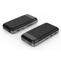 Hub USB-C 8 in 1 Hyperdrive 7.5W HD258B