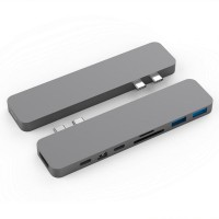Hub USB-C HyperDrive Pro 8 in 2 GN28D