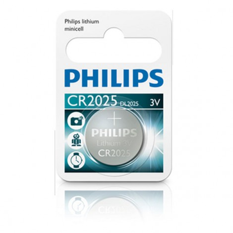 Pin Philips Minicell CR2025