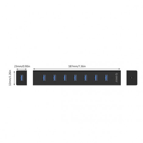 HUB USB Orico H7013-U3-AD