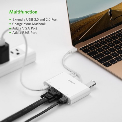 Cable USB-C Ugreen 30439