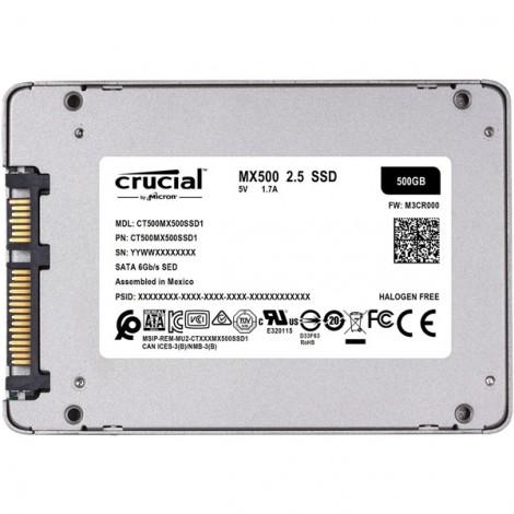 Ổ cứng SSD 250GB Crucial CT250MX500SSD1