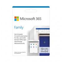 Phần mềm Microsoft 365 Family English APAC EM Subscr 1YR ...