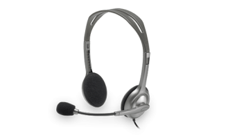 Headphone Logitech H111 (1 Jack)