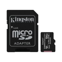 Thẻ nhớ 64GB MicroSDXC Kingston Canvas Select SDCS2/64GB