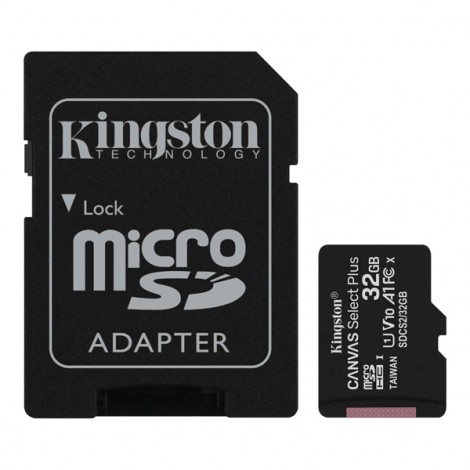 Thẻ nhớ 32GB MicroSDHC Kingston Canvas Select SDCS2/32GB