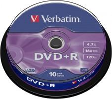 DVD Disk Verbatim 43498 Lốc 10
