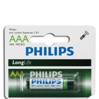 Pin Kẽm AAA Philips R03L10S