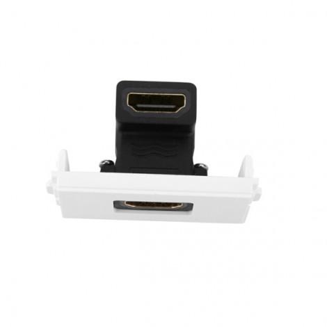 Đế HDMI âm tường bẻ góc 90 độ Ugreen 20318