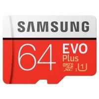 Thẻ nhớ 64Gb Micro-SDHC Samsung Evo Plus (Class 10) MB-MC64HA/APC