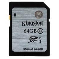 Thẻ nhớ SD 64Gb Kingston Class 10
