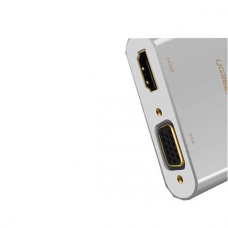 Bộ chuyển đổi Mini DisplayPort sang HDMI/VGA Ugreen 20421