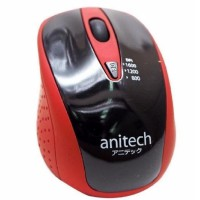 Mouse Anitech W214-RD