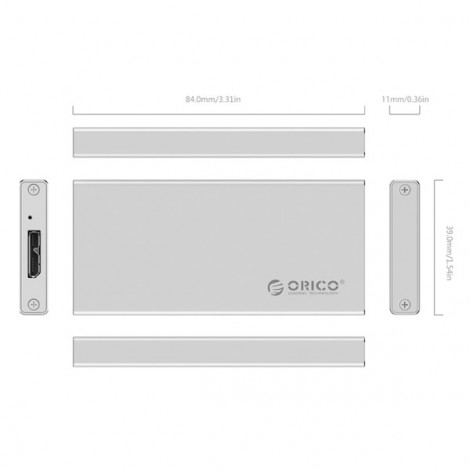 HDD BOX ORICO MSA-U3