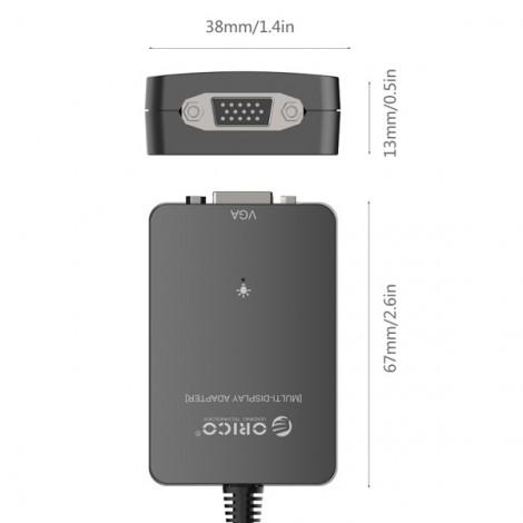 Bộ chuyển USB 3.0 sang VGA Orico DU3V