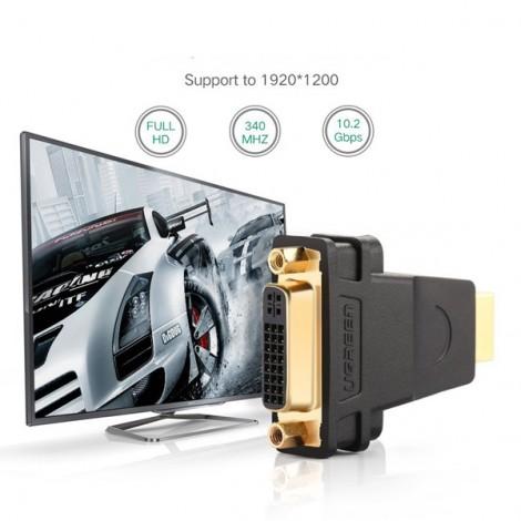 Đầu đổi HDMI sang DVI-I Ugreen 20123