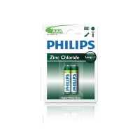 Pin Kẽm AAA Philips R03L2B